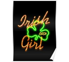 Irish Girl Party Poster