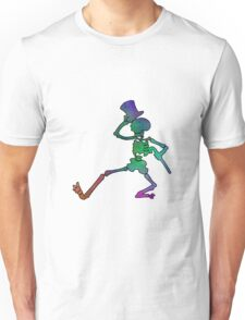 Grateful Dead Dancing Skeleton Trippy Unisex T-Shirt