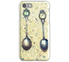 I've measured out my life in coffee spoons.  iPhone Case/Skin