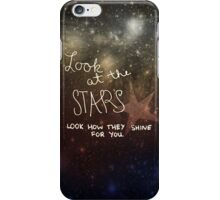 Yellow Coldplay iPhone Case/Skin