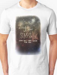 Yellow Coldplay Unisex T-Shirt