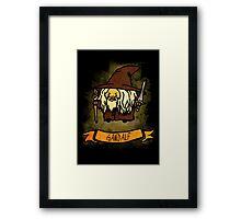 Bouncy Gandalf Framed Print