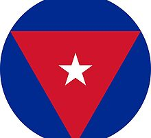 Roundel of the Cuban Air Force  by abbeyz71