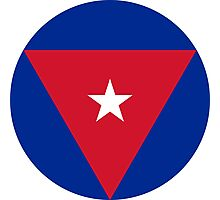 Roundel of the Cuban Air Force  Photographic Print