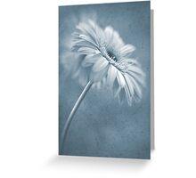 Blue Dancer Greeting Card
