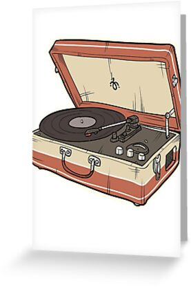 Vintage Record Player by JonahVD