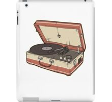 Vintage Record Player iPad Case/Skin
