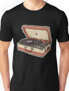 Vintage Record Player Unisex T-Shirt