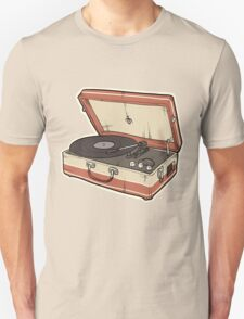 Vintage Record Player T-Shirt