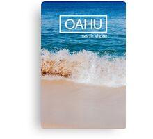 Oahu, Hawaii Beach Canvas Print