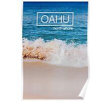 Oahu, Hawaii Beach Poster