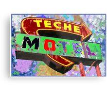 Teche Motel Metal Print