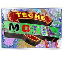 Teche Motel Poster