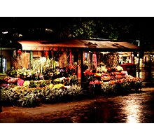 The Flower Cart Photographic Print