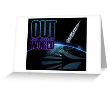 Out Of This World (Carolina Crown 2014) Greeting Card
