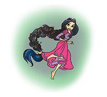 Rapunzel  by Banarn