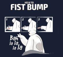 How to fist bump! Kids Tee