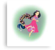 Rapunzel, undefined Canvas Print