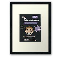 Ike Adventure Poster! Framed Print