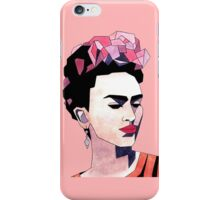 Geometric Frida Kahlo iPhone Case/Skin