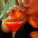 Cosmopolitan Cocktail  by Margaret Zita Coughlan