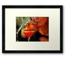 Cosmopolitan Cocktail  Framed Print