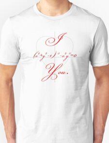 I (Heart-shaped Curve) You. T-Shirt