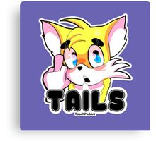 Tails Canvas Print