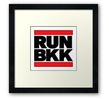 RUN BKK Framed Print