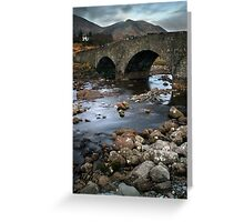 Sligachan Bridge Greeting Card
