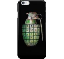 Your Keyboard is Your Weapon iPhone Case/Skin