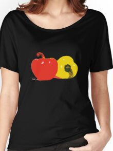 Peppers Graphic Women's Relaxed Fit T-Shirt