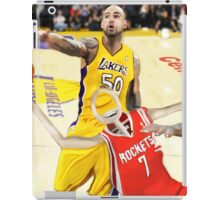 Corky's playing basketball iPad Case/Skin