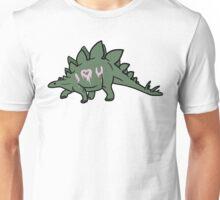 Heart Dino Unisex T-Shirt