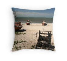 done for the day Throw Pillow