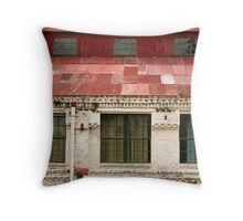 empty offices Throw Pillow