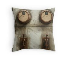 meter reader Throw Pillow