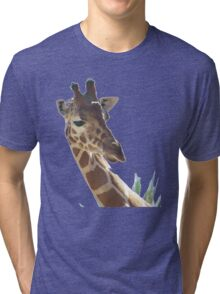 Stick your Neck Out - It's Good For You! Tri-blend T-Shirt