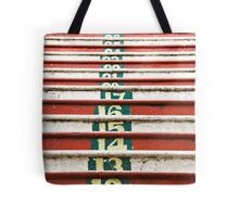 Batu cave steps Tote Bag