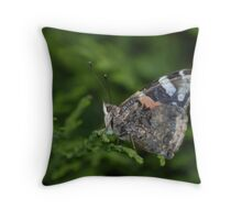 Red Adrimal Folded Wings Throw Pillow