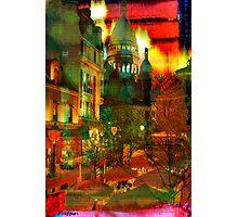 Cafe Rue Morgue Photographic Print
