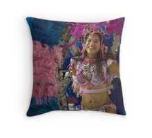 carnival clothing Throw Pillow