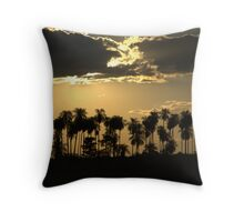 palmset Throw Pillow