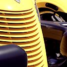 Yellow car by Yves Roumazeilles