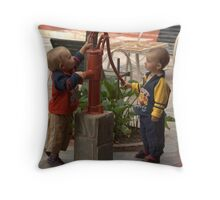 water boys Throw Pillow