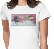 The Great Space Race Womens Fitted T-Shirt
