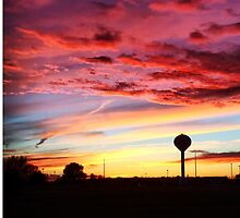 Midwestern Sunset October 2014 by nativeminnow