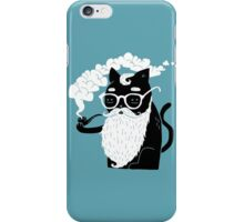 Whiskers And Pipe iPhone Case/Skin