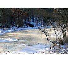 Sub-zero Morning At Sandy Creek Photographic Print