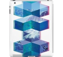 Abstract Cubes iPad Case/Skin